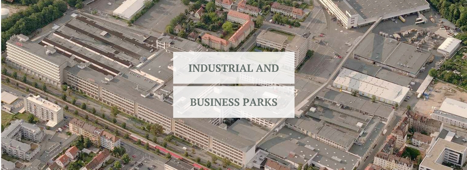 Industrial and business parks